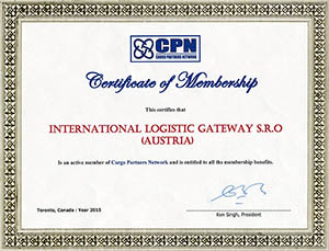 Certificate of Membership - CPN