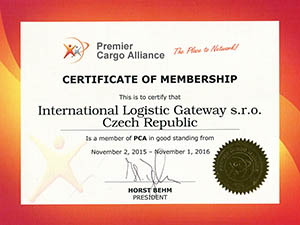 Certificate of Membership - PCA